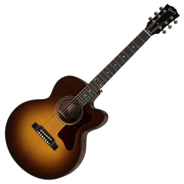 Gibson Parlor Walnut Modern, Walnut Burst - Front View