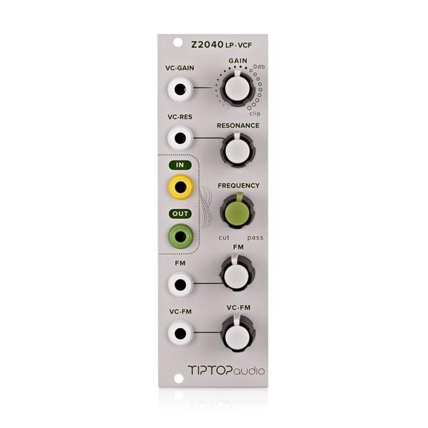 Tiptop Audio Z2040 4-Pole Low Pass VCF (8HP)