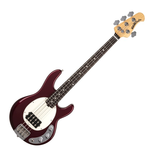Music Man StingRay SS Bass, Raspberry Pearl