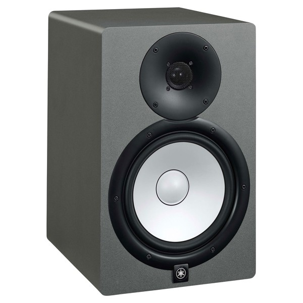 Yamaha HS8 Studio Monitor, Space Grey - Angled Right