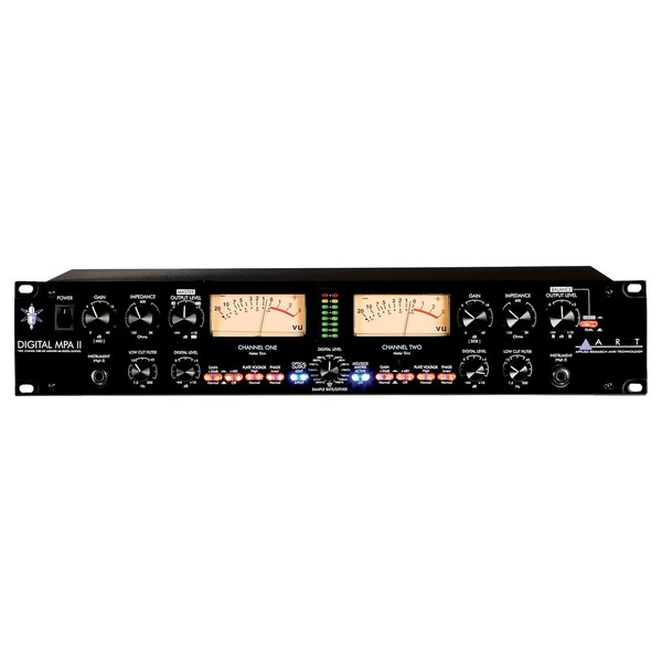 ART Digital MPA-II Mic Preamp with A/D Conversion - Front