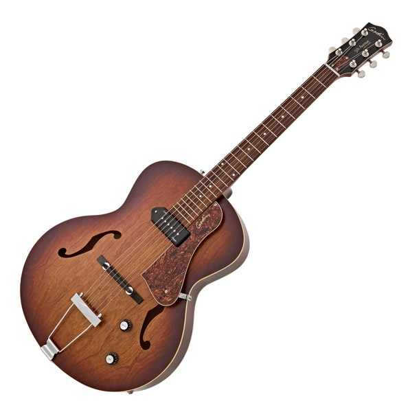 Godin 5th Avenue Kingpin Hollowbody, Cognac Burst