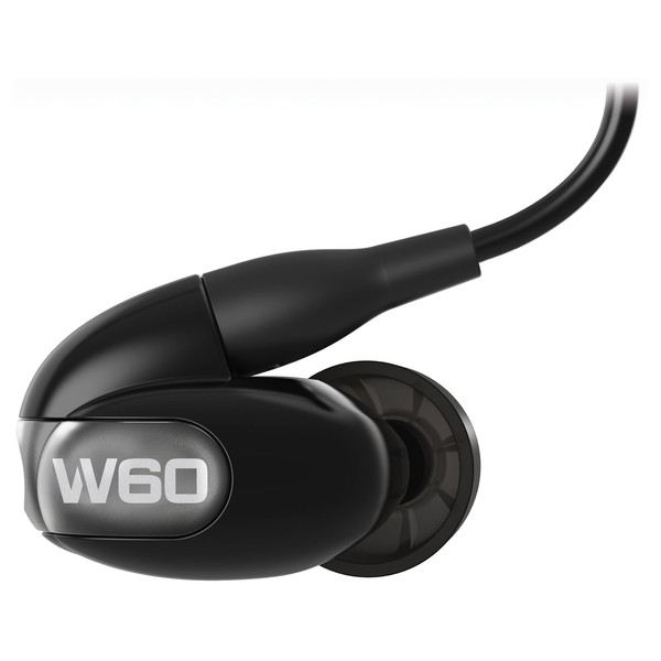 Westone W60 Earphones with Bluetooth, Black - Main