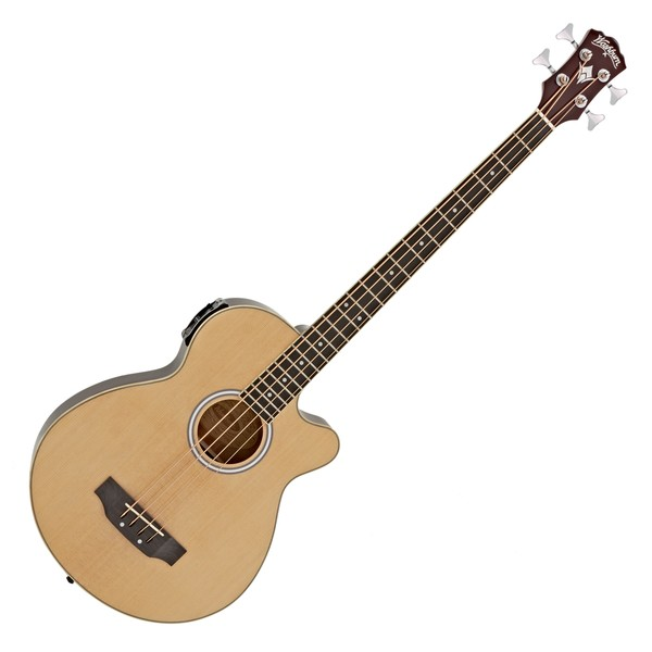 Washburn AB5 Acoustic Bass, Natural