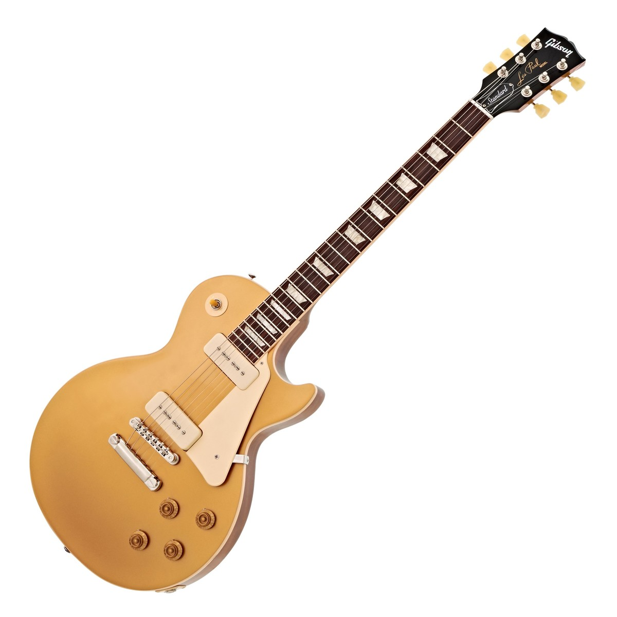 gibson les paul standard 50s p90 gold top at gear4music. Black Bedroom Furniture Sets. Home Design Ideas