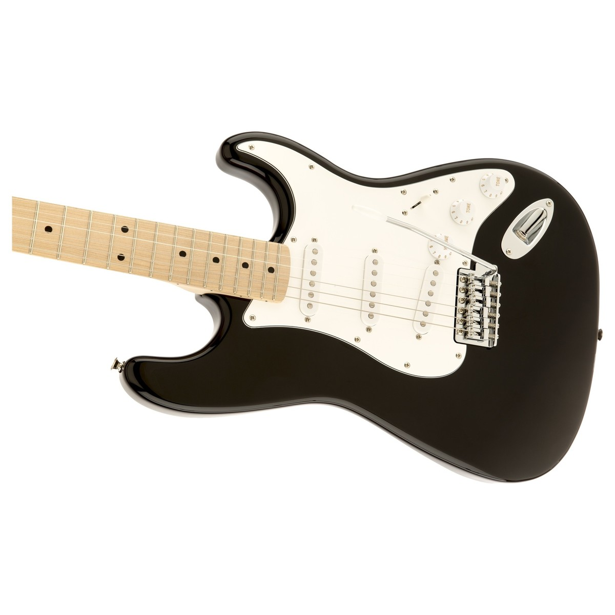 squier affinity stratocaster mn black at gear4music. Black Bedroom Furniture Sets. Home Design Ideas