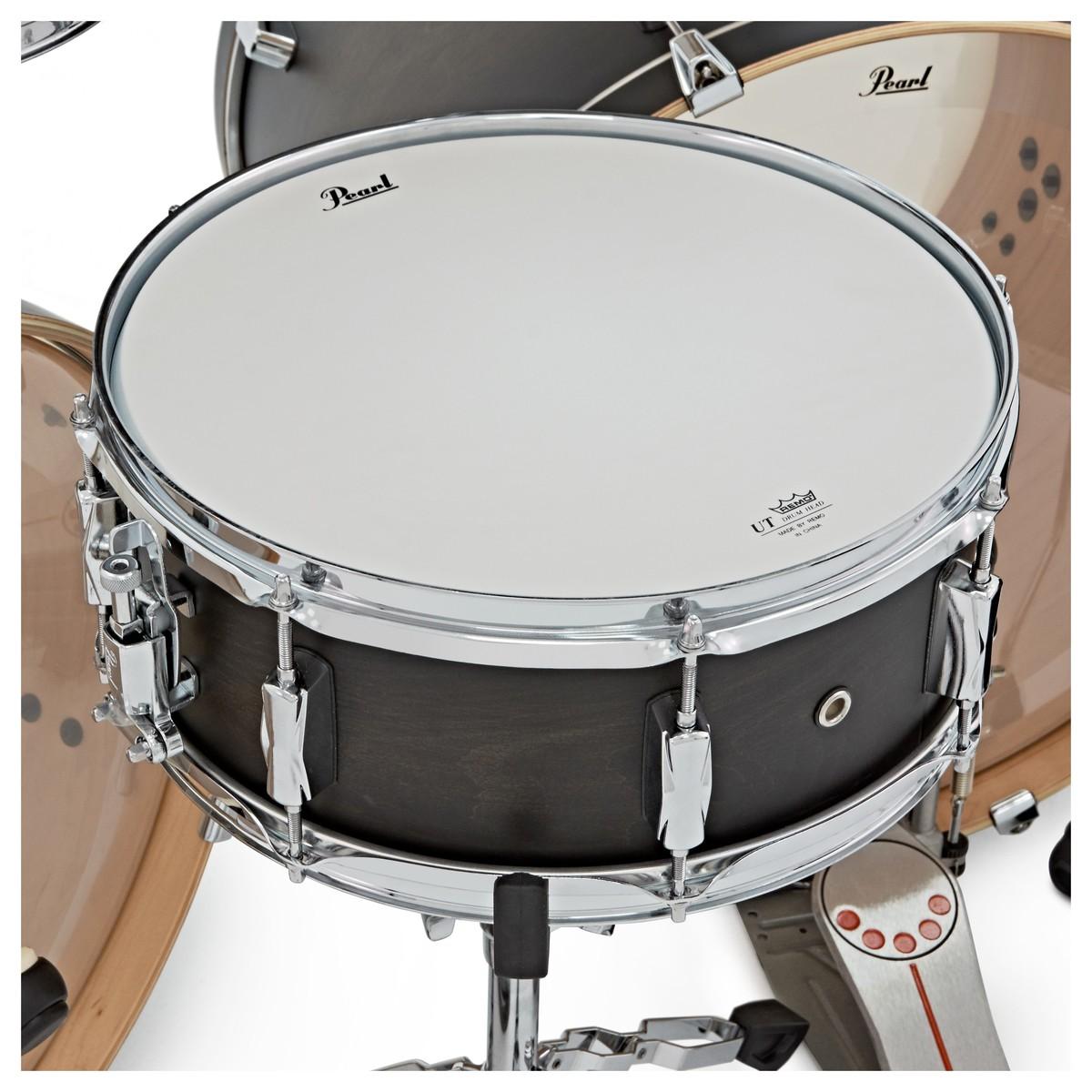 pearl decade maple 7pc double kick drum kit satin black burst at gear4music. Black Bedroom Furniture Sets. Home Design Ideas