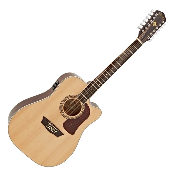 Washburn Heritage D10SCE-12 String Electro Acoustic, Natural