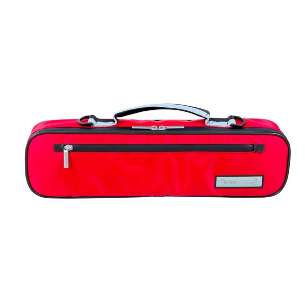 BAM PERF4009XL Performance Cover for Hightech Flute Case, Red