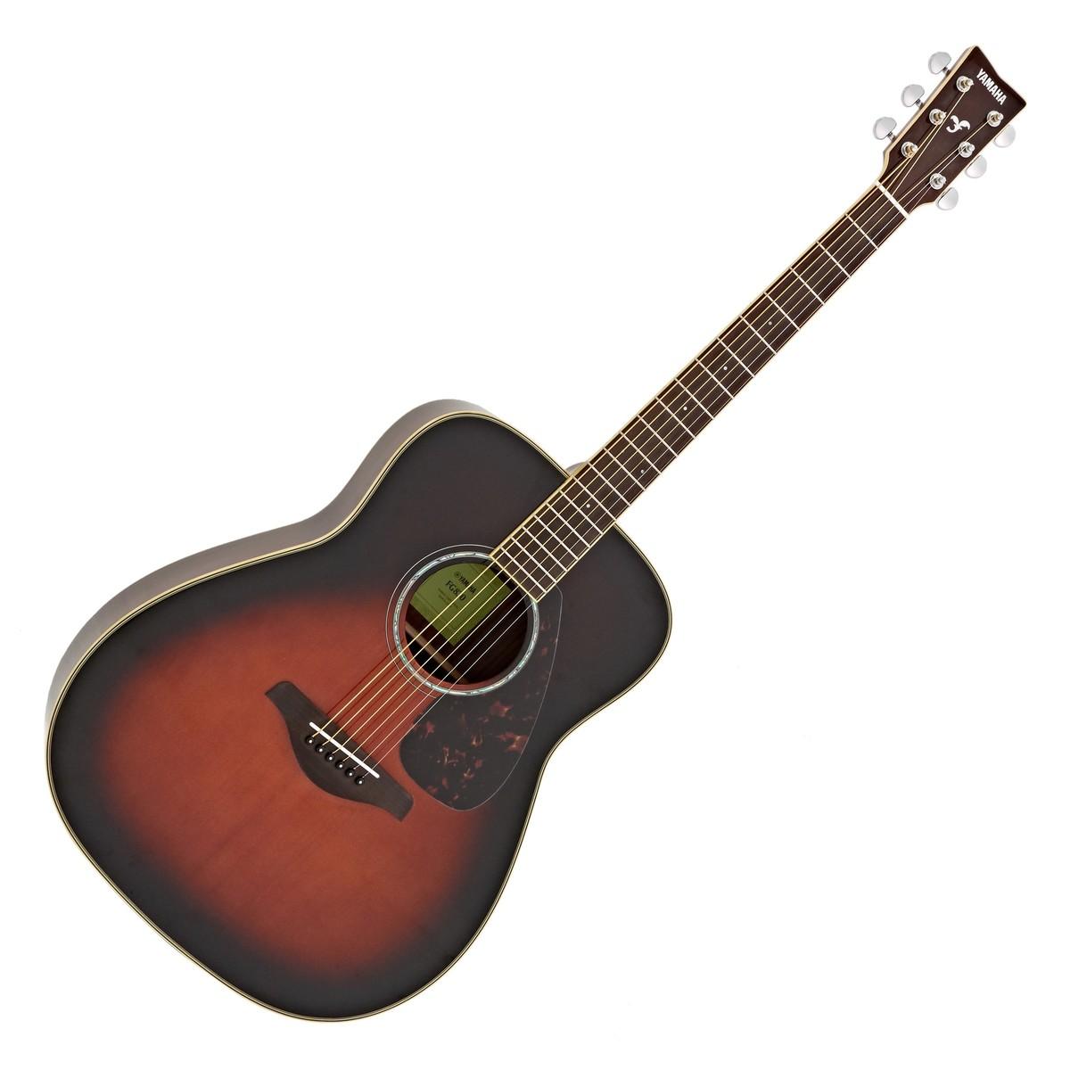 dccb3f6bcd Yamaha FG830 Acoustic, Tobacco Brown Sunburst. Loading zoom