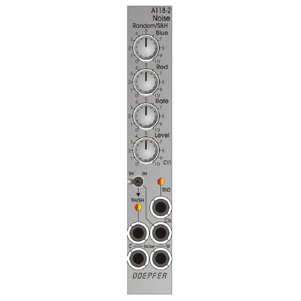 Doepfer A-118-2 Noise/ Random/ T&H/ S&H (4HP)