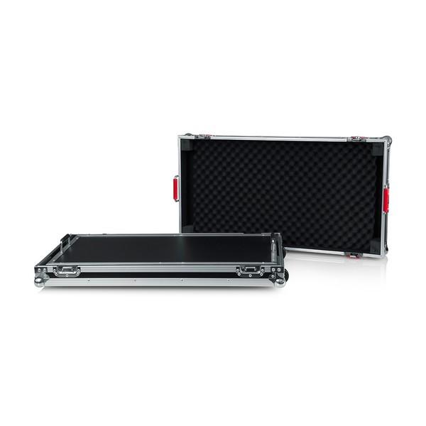 Gator G-Tour Extra-Large Pedal Board with Wheels, Full Board Open