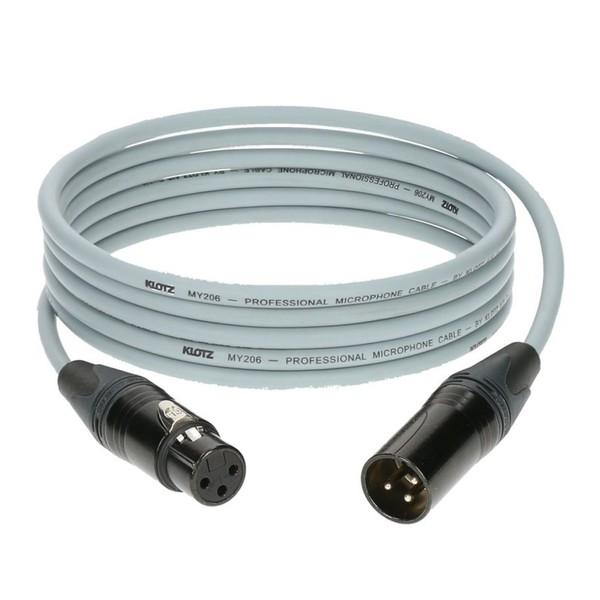 Klotz M1 XLR Microphone Cable Grey, 2m