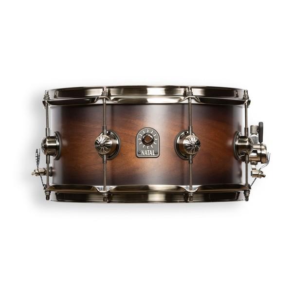 Natal Originals Walnut 13 x 6.5'' Snare Drum, Vintage Burst