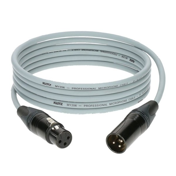 Klotz M1 XLR Microphone Cable Grey, 7.5m