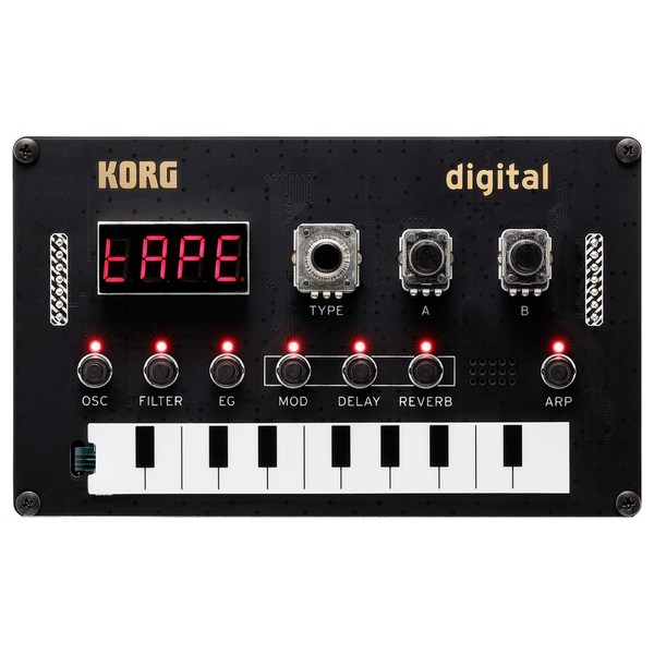 Korg Nutekt Synthesizer - Top