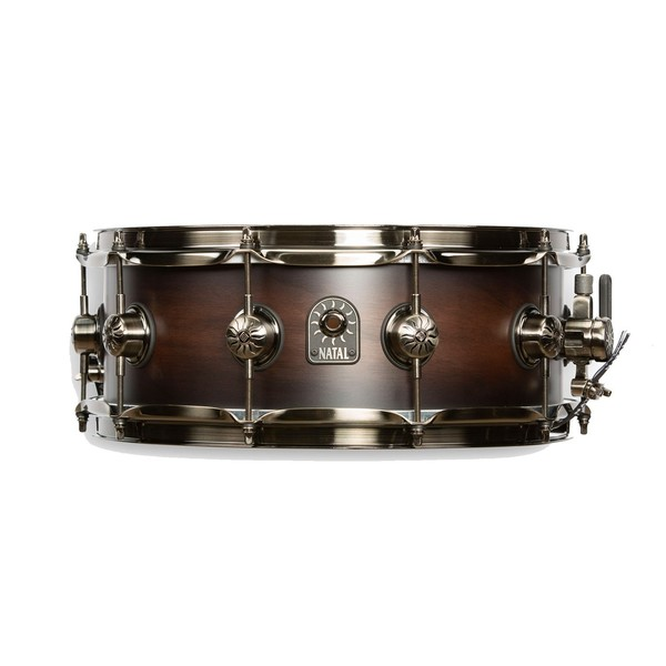 "Natal Originals Walnut 14 x 5.5"" Snare Drum, Vintage Burst"