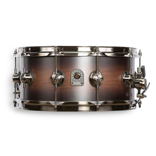 "Natal Originals Walnut 14 x 6.5"" Snare Drum, Vintage Burst"