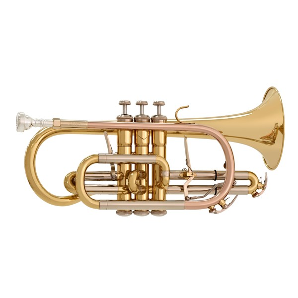 Bach CR651 Bb Cornet Outfit, Lacquer main1