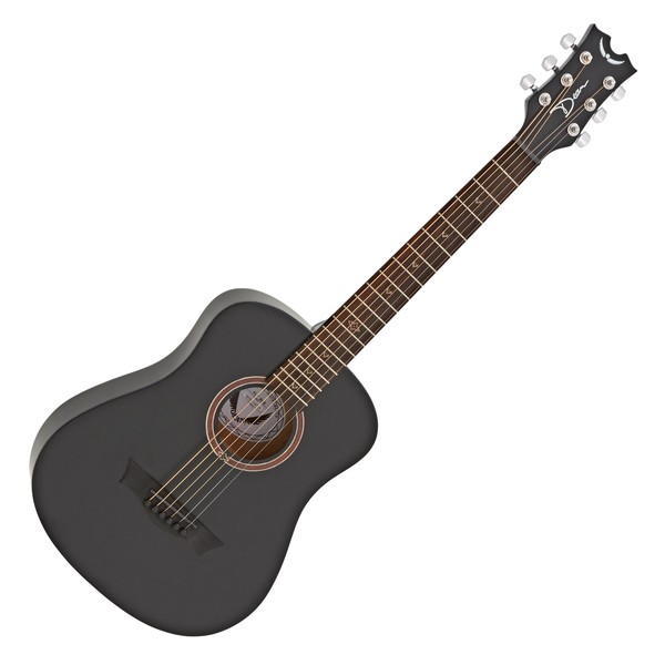 Dean Flight Series Travel Acoustic, Black Satin