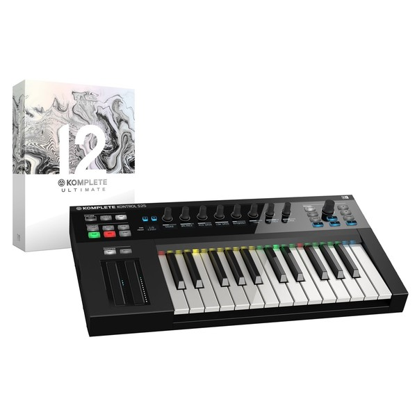 Native Instruments Komplete Kontrol S25 with Komplete 12 Ult CE