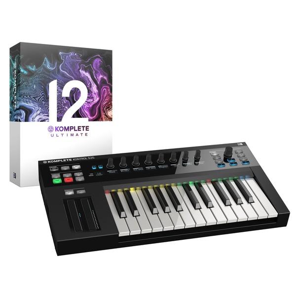 Native Instruments Komplete Kontrol S25 with Komplet 12 Ultimate