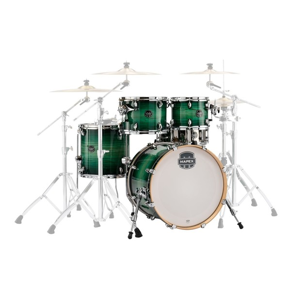 Mapex Armory 20'' Fusion 5pc Shell Pack, Emerald Burst - Main image