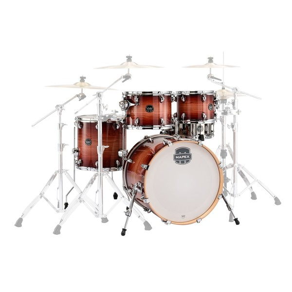Mapex Armory 20'' Fusion 5pc Shell Pack, Redwood Burst - main image