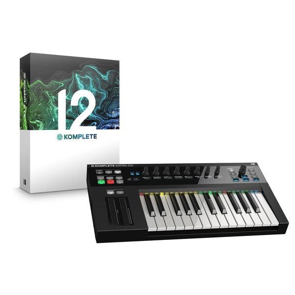 Native Instruments Komplete Kontrol S25 with Komplete 12