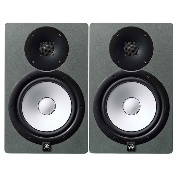 Yamaha HS8 Active Studio Monitor, Pair, Limited Edition Space Grey