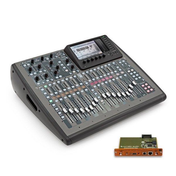 Behringer X32 COMPACT with Cymatic Audio uTrack-X32