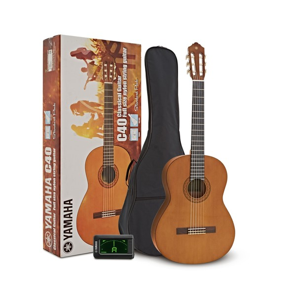 Yamaha C40II Classical Guitar Standard Pack, Natural main