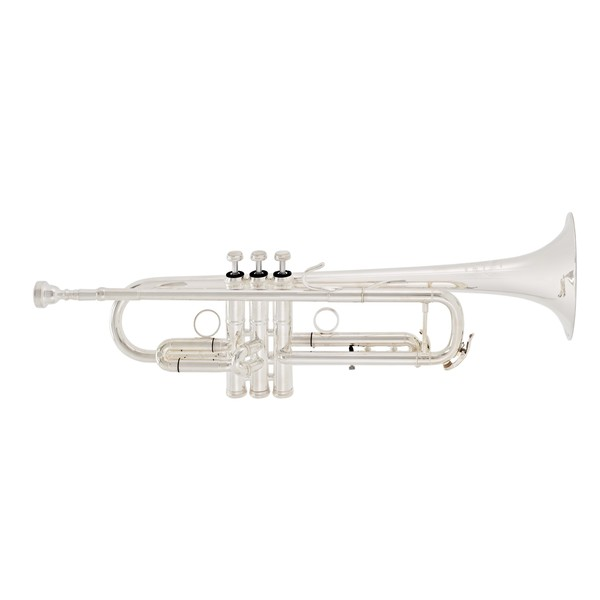 B&S MBX3 Heritage Trumpet, Silver Plated