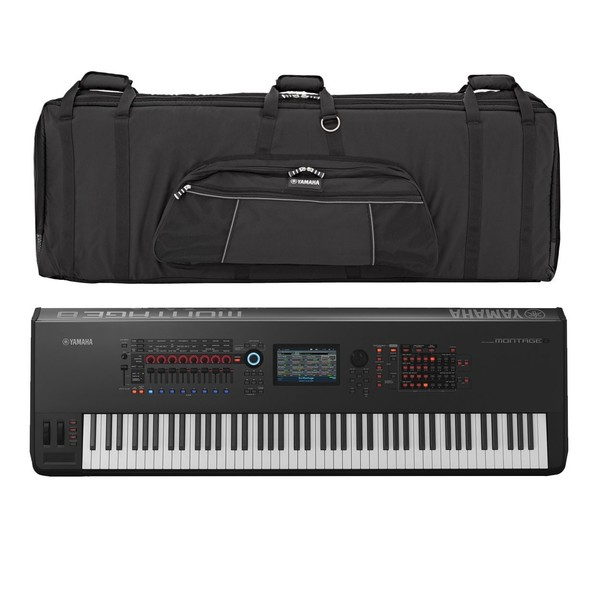 Yamaha MONTAGE 8 Synthesizer with Soft Case - Full Bundle