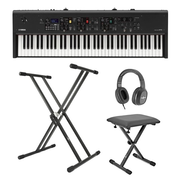 Yamaha CP73 Digital Stage Piano X Frame Package - Full Bundle