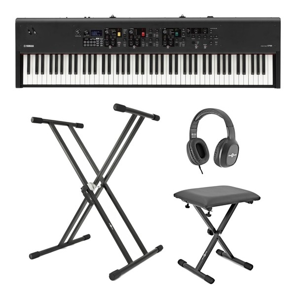 Yamaha CP88 Digital Stage Piano X Frame Package - Full Bundle