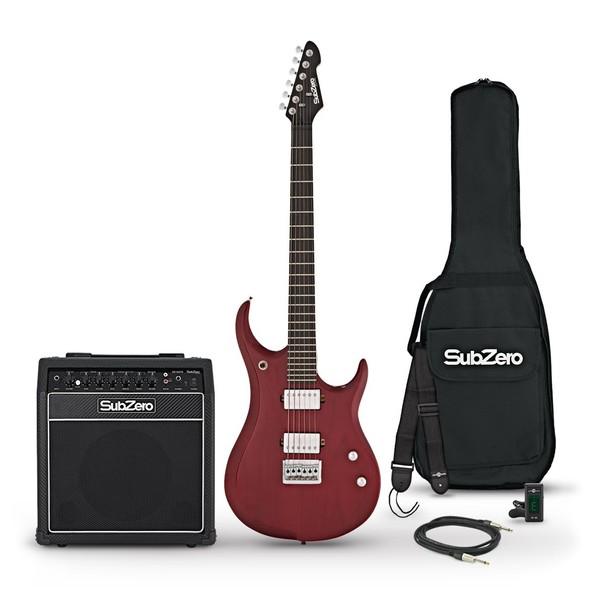 SubZero Generation 15W Amp Pack, Trans Scarlet