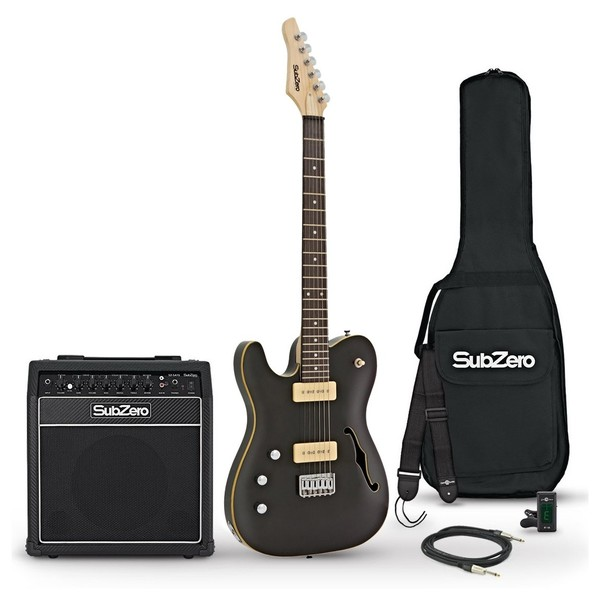 SubZero Paradigm LH SH 15W Amp Pack, Trans Black