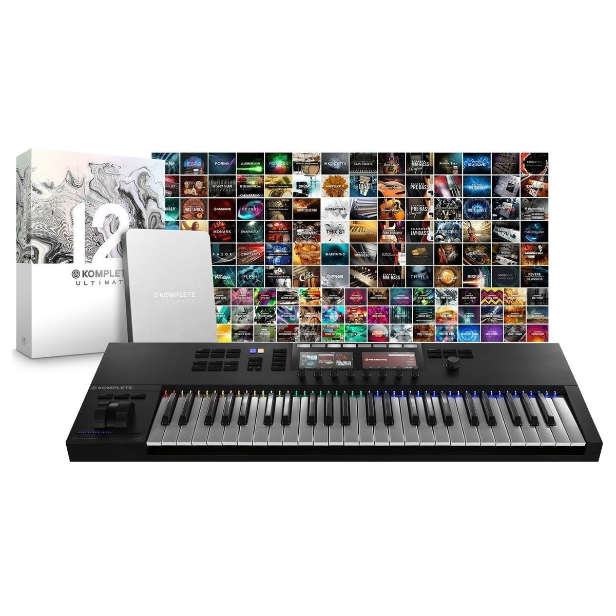 Native Instruments Komplete Kontrol S49 MK2 & Komplete 12 Ultimate CE