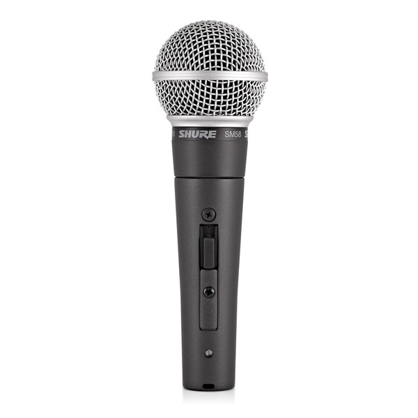 Shure SM58S Dynamic Cardioid Vocal Microphone with Switch