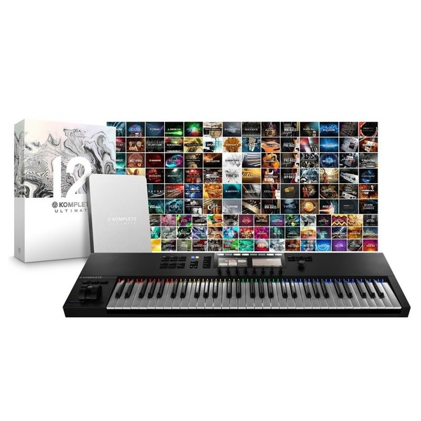 Native Instruments Komplete Kontrol S61 MK2 & Komplete 12 Ultimate CE - Full Bundle
