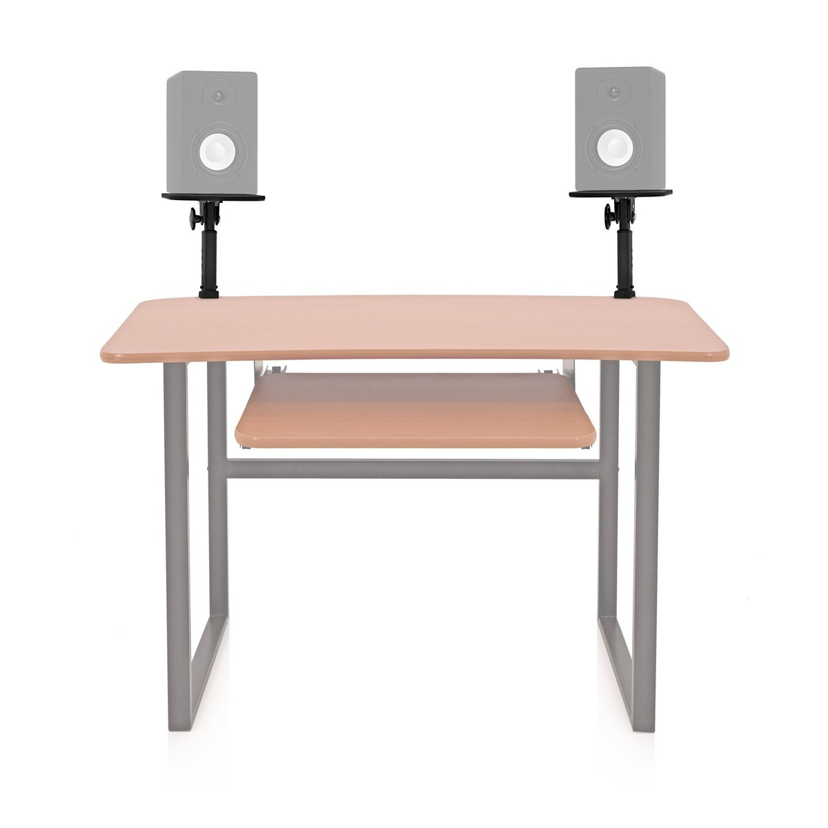 desk clamp monitor speaker stands by gear4music at gear4music. Black Bedroom Furniture Sets. Home Design Ideas