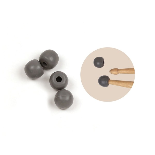 Vic Firth Universal Practice Tips, Grey