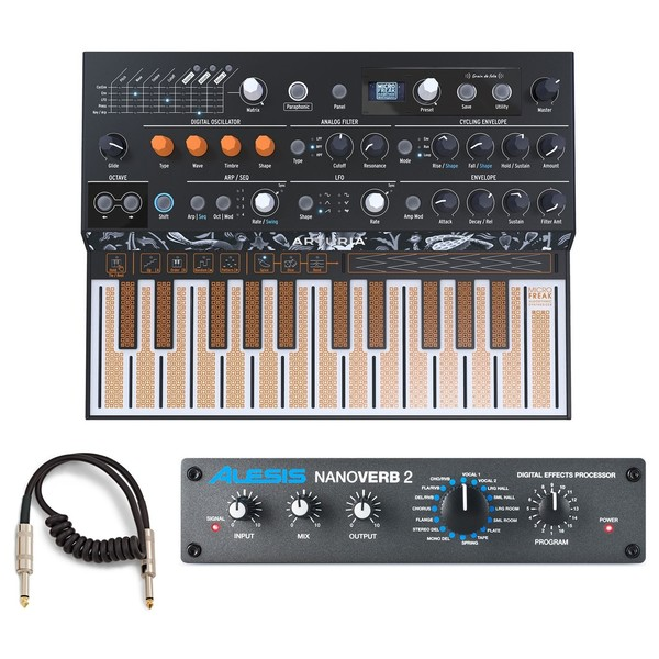 Arturia MICROFREAK Paraphonic Hybrid Synthesizer