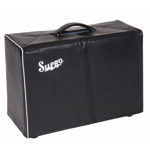 Supro Black Amp Cover For 2x10/1x12 Combo