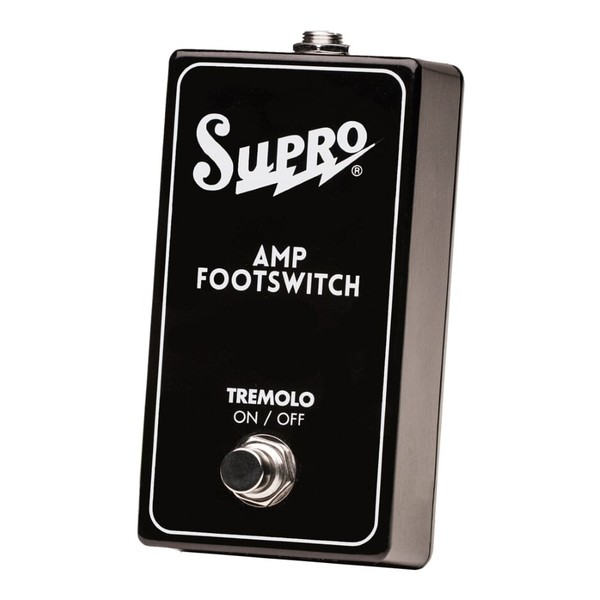 Supro Single Button Footswitch Tremolo On/Off Remote