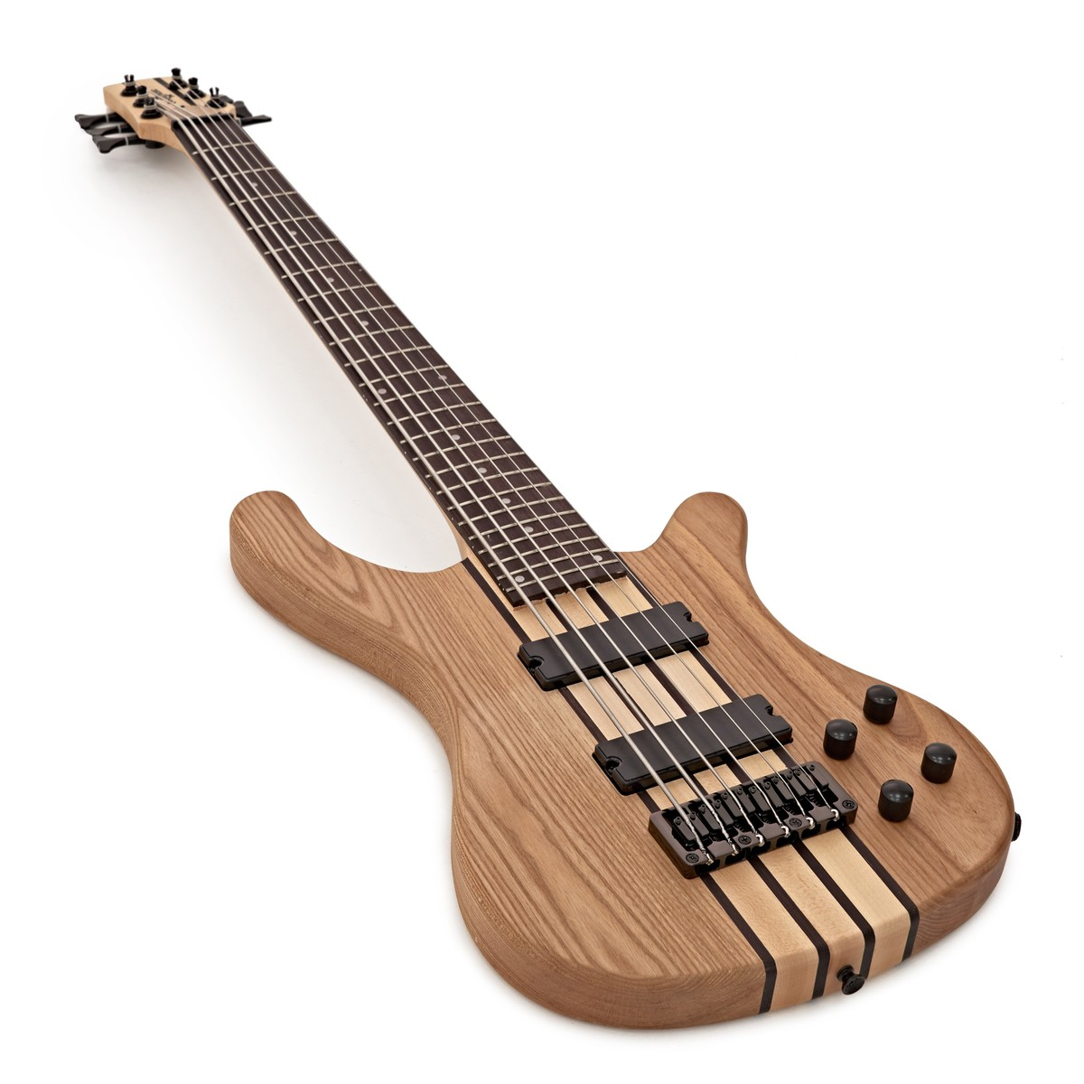 oregon 6 string bass guitar by gear4music natural b stock at gear4music. Black Bedroom Furniture Sets. Home Design Ideas