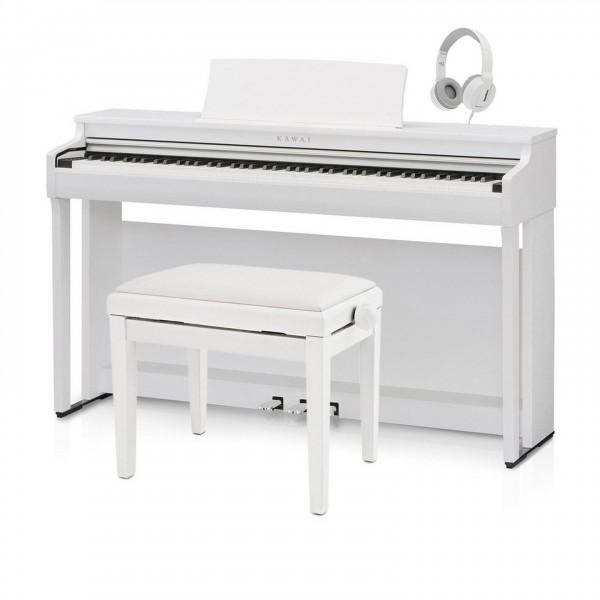 Kawai CN29 Digital Piano, Satin White Package