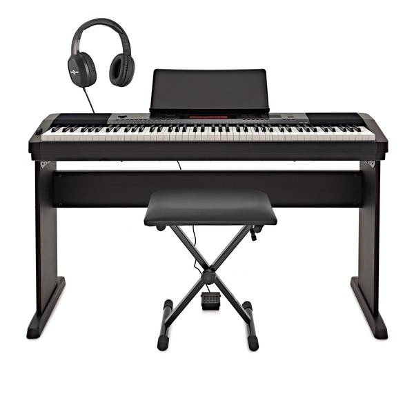 Casio Cdp 230r Digital Piano Deluxe Pack Black At Gear4music