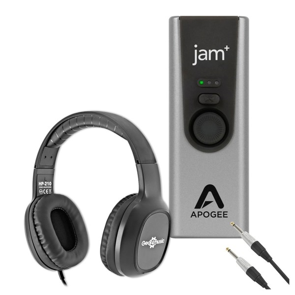 Apogee Jam+ Instrument Recording Bundle - Full Bundle
